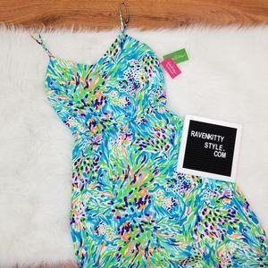 NWT Lilly Pulitzer Sea Soiree Deanna Maxi Dress L